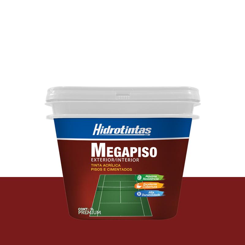 Tinta Megapiso Ceramica 3L Hidrotintas