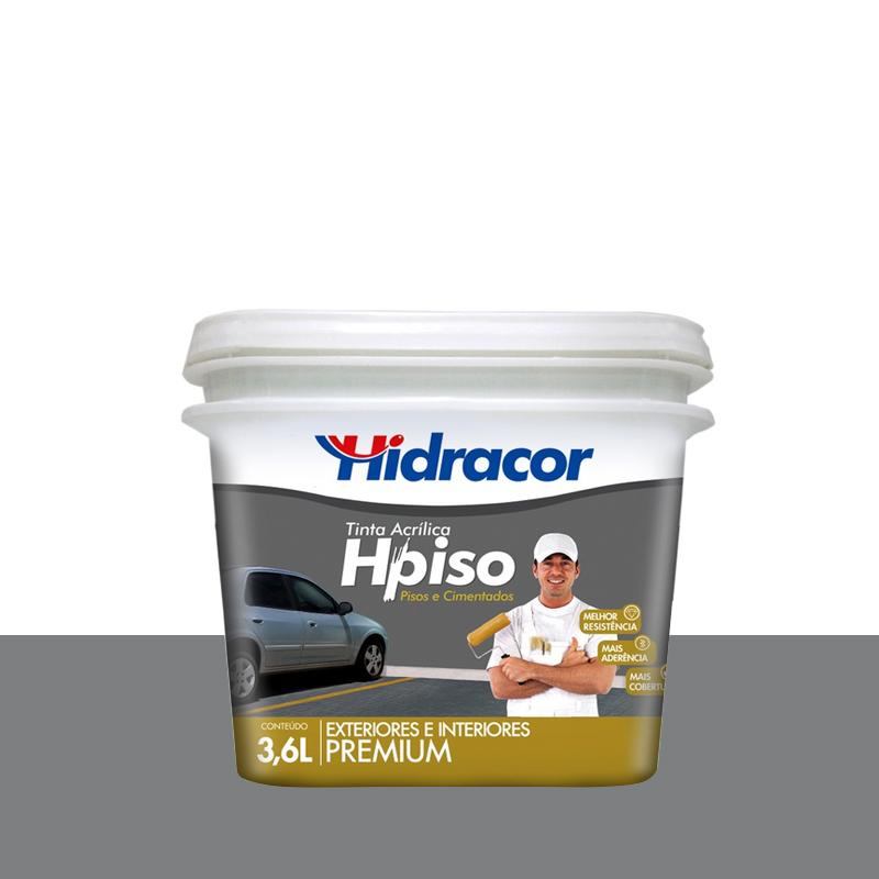 Tinta Piso Cinza 3,6L Hidracor