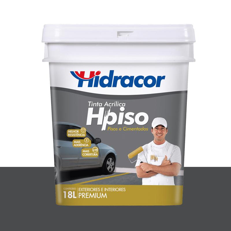 TINTA PISO HIDRACOR 15L CINZA ESCURO
