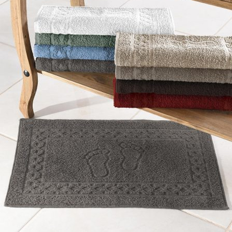 Toalha Piso Luxo 45 x 68Cm Hiper Textil
