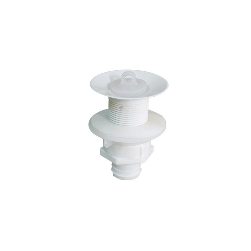 Válvula Plástica Para Lavatório Longa Branco VL3-S Astra