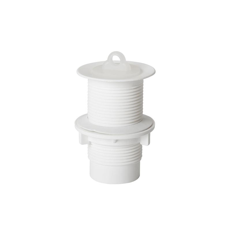 Válvula Plástica Para Tanque Branco 1.1-4 Vt Astra