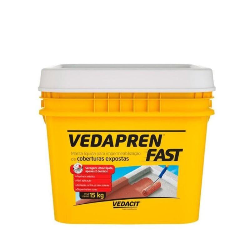Vedapren Fast Branco 15Kg Vedacit