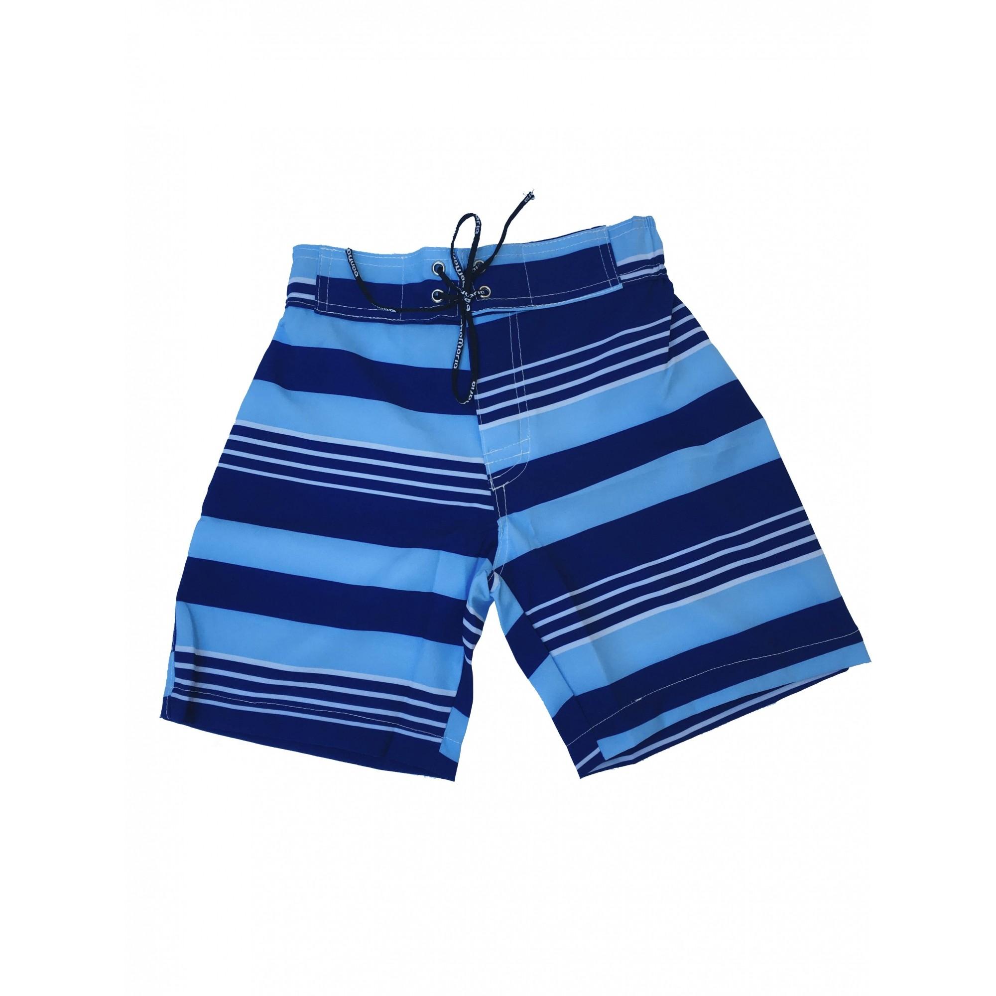 Bermuda Surf Infantil Blue Stripes