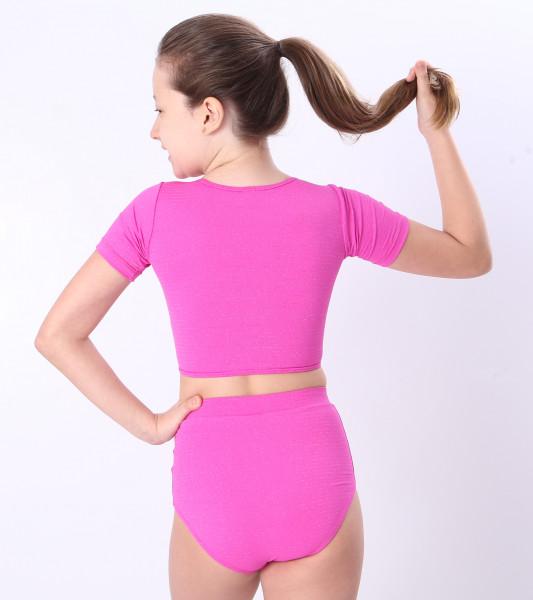 Biquíni Teen Lycra Proteção UPF50+  Luna Pink Shine