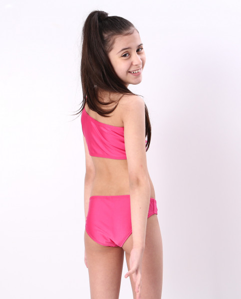Biquíni Teen Lycra Proteção UPF50+  Niki Pink Cirré