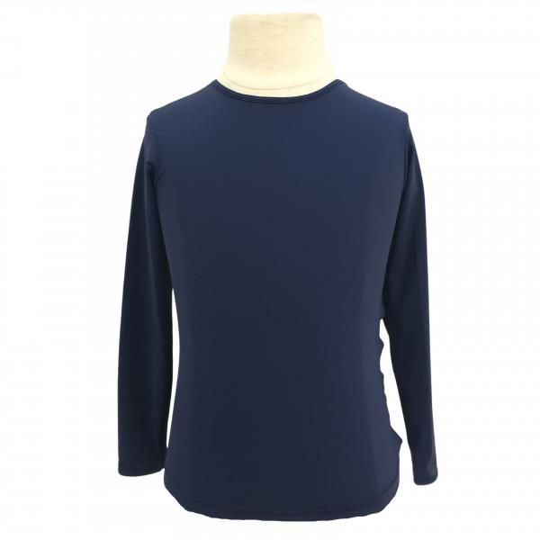 Camiseta de Proteção UPF50+ - Azul Marinho