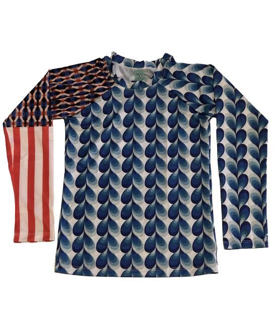 Camiseta de Proteção UPF50+ - Circus Stripes