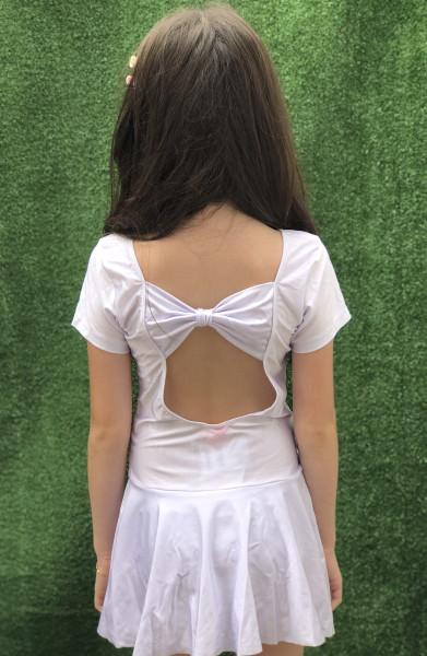 Collant  Bree Com Laço Branco