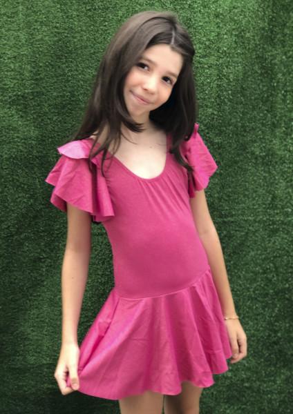 Collant Bree Saia - Rosa Glitter