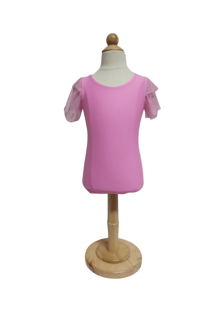 Collant Bree Tule - Rosa Babaloo