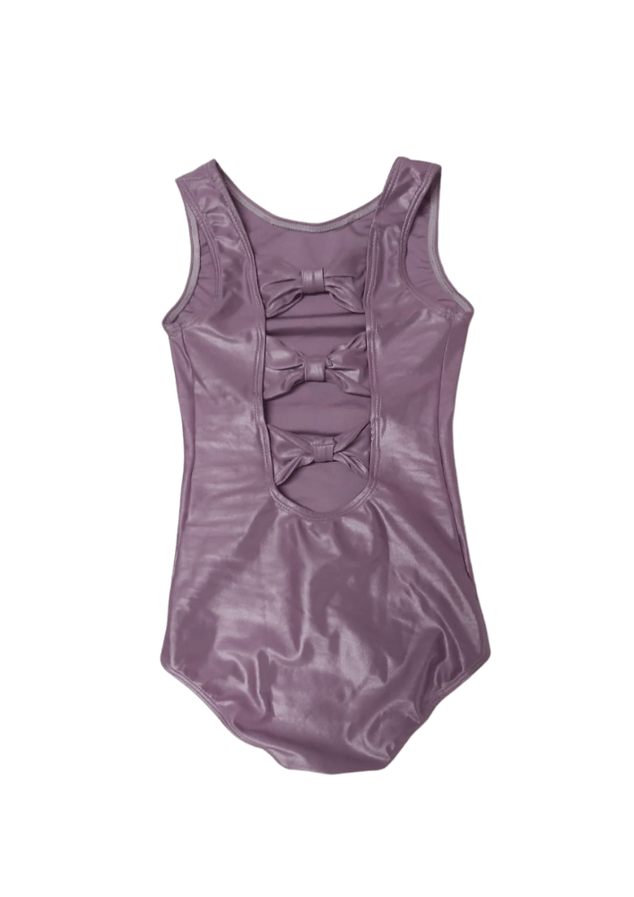 Collant Com Laços - Violeta Metálico