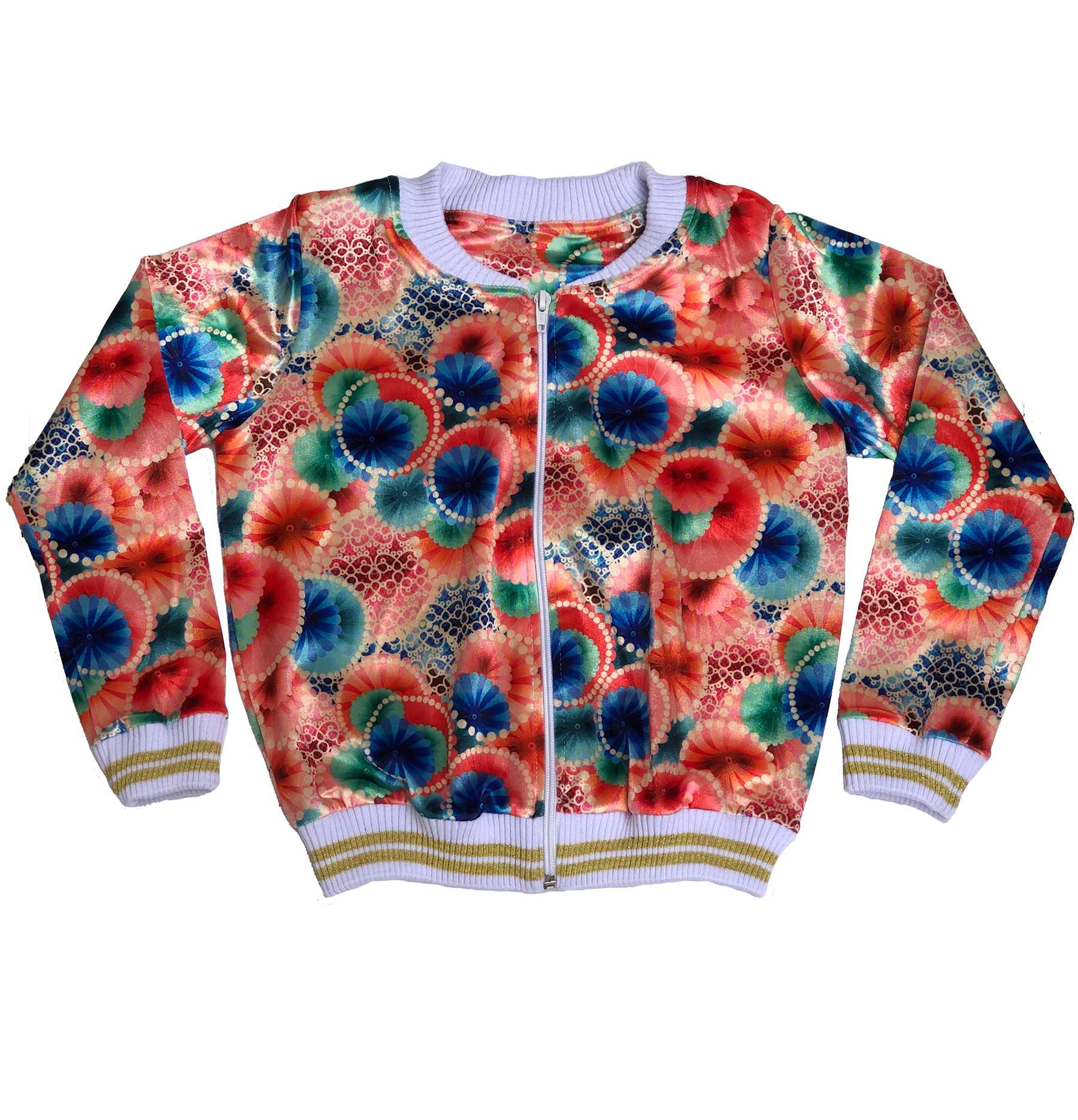 Jaqueta Bomber Abstract