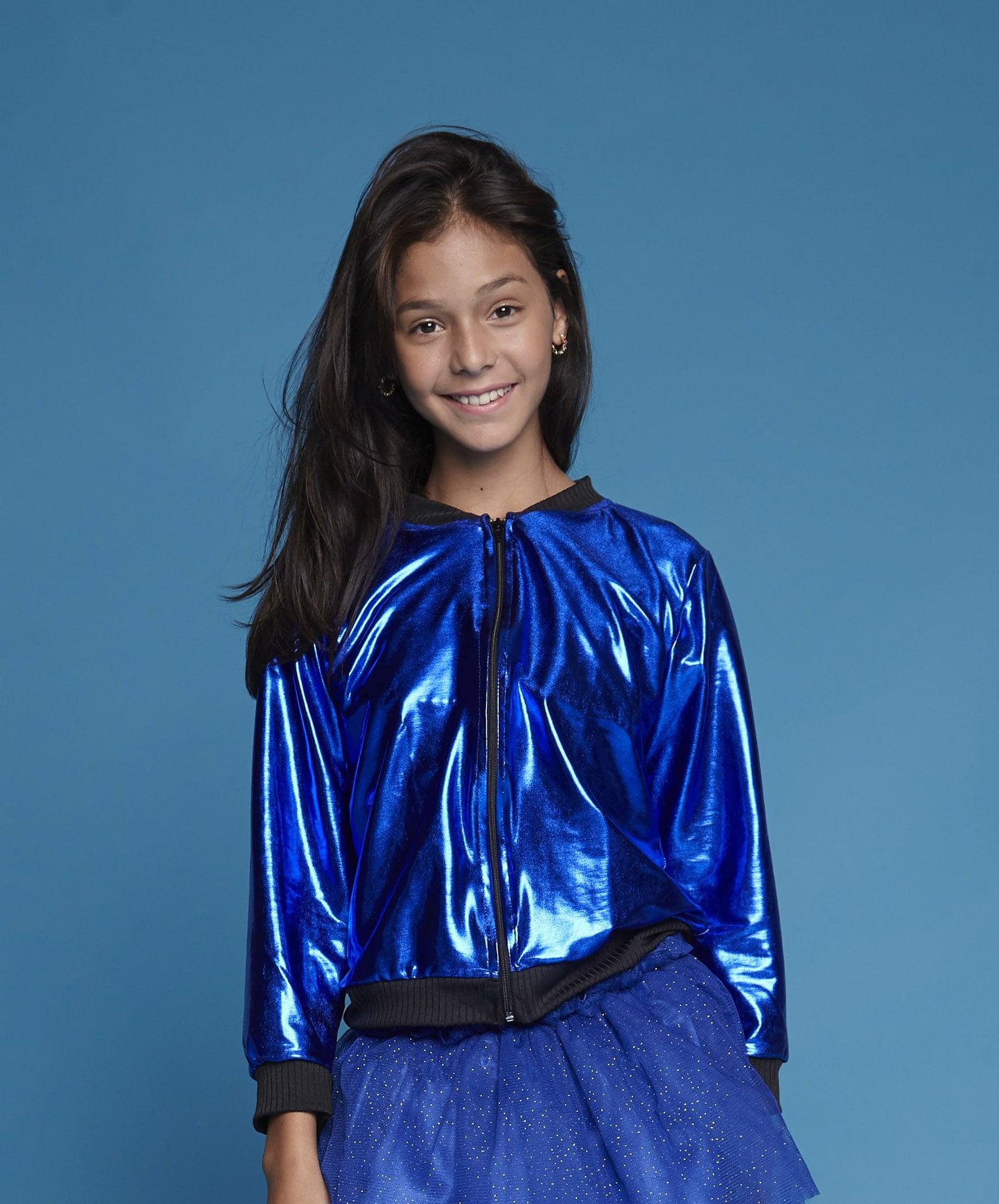 Jaqueta Colors Azul Royal