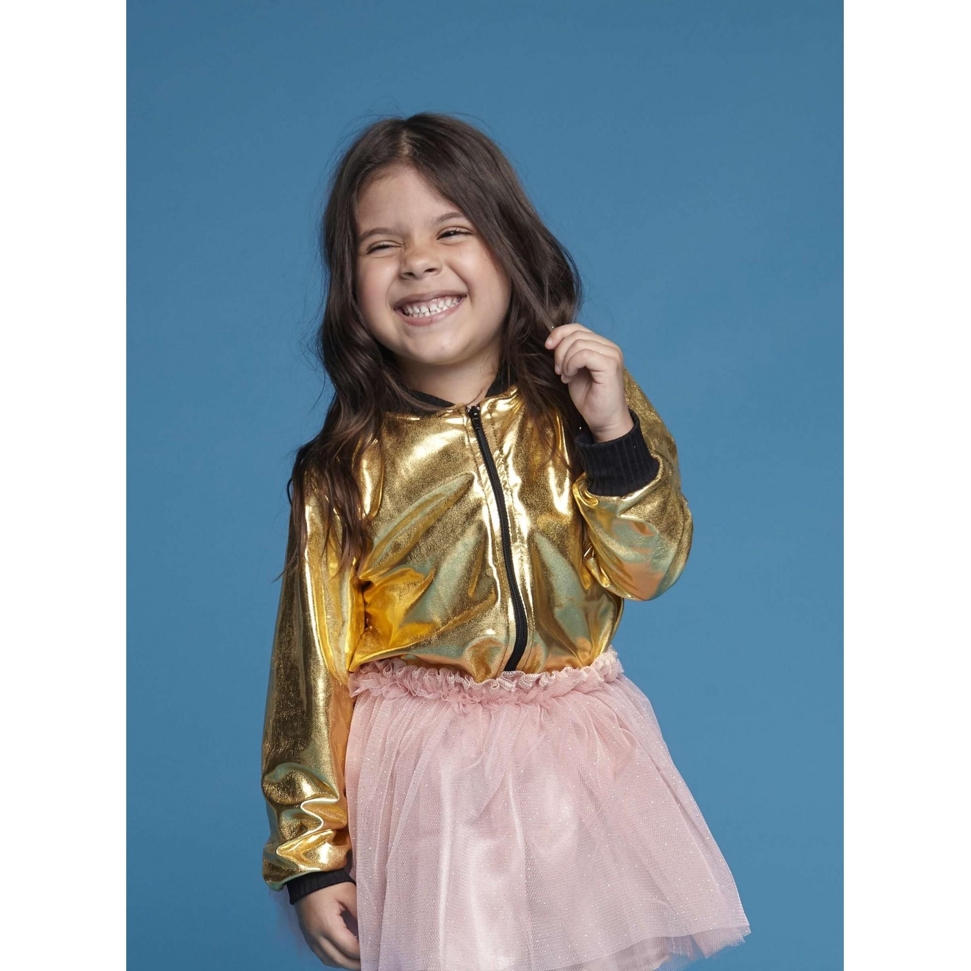 Jaqueta Colors Dourada