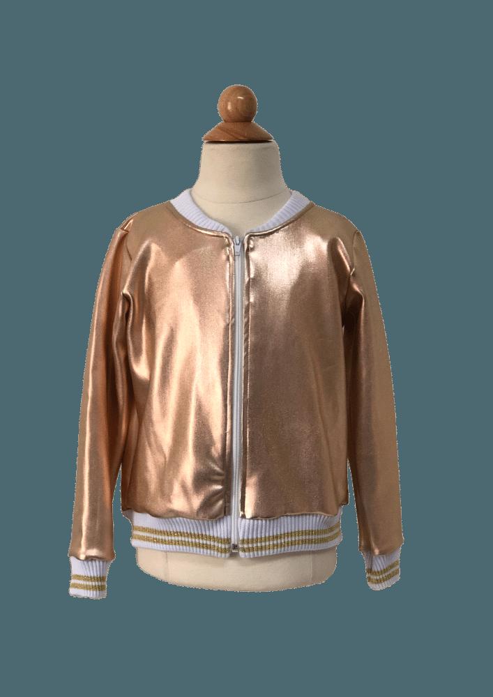 Jaqueta Metalic Golden