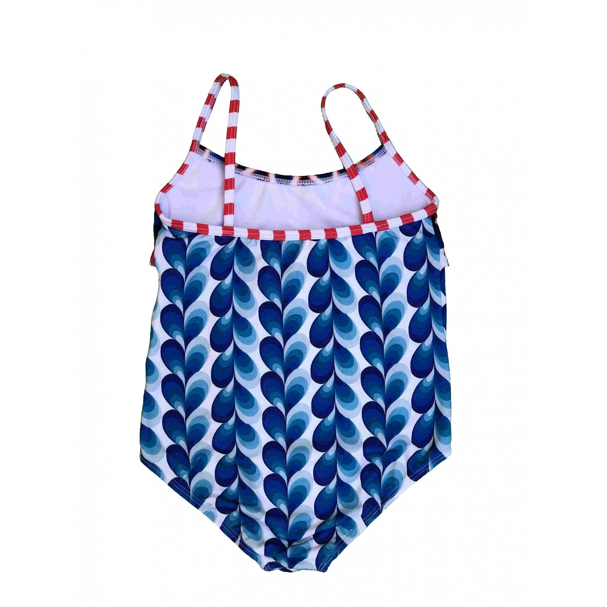 Maiô Bebê Lycra Proteção UPF50+ Circus Stripes