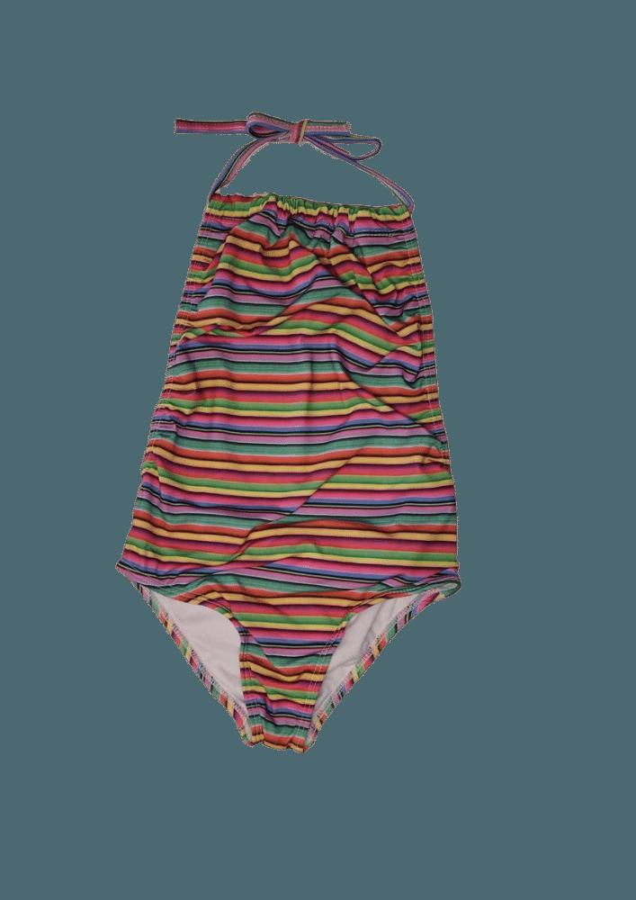 Maiô  Lycra Proteção UPF50+ Frente Única Stripes Colorful