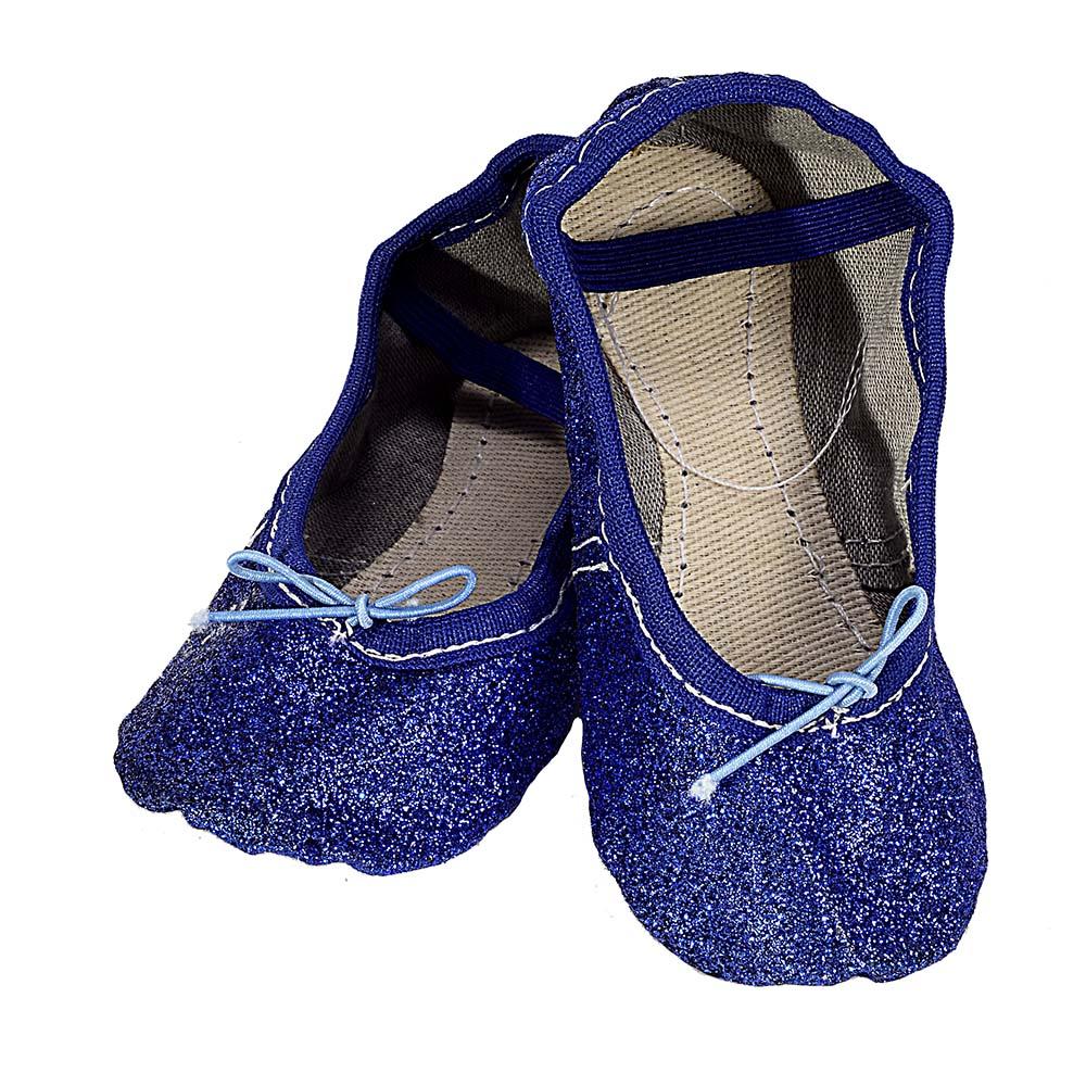 Sapatilha Glitter Azul Escuro