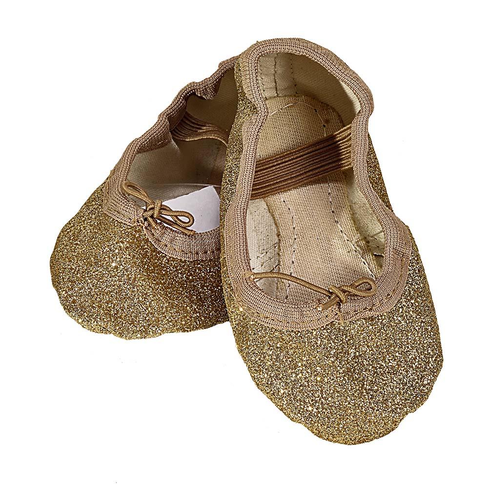 Sapatilha Glitter Dourada