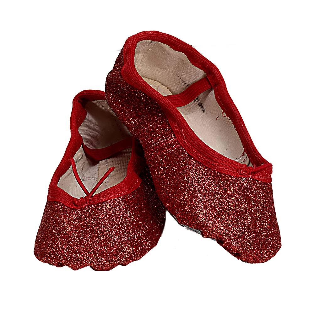 Sapatilha Glitter Vermelha