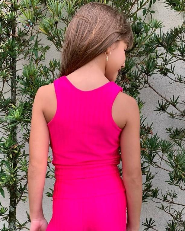 Top Infantil Pink