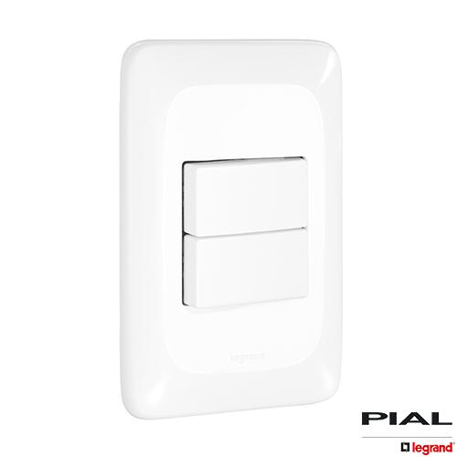 2 Interruptores Simples  4X2 - PIAL PoP
