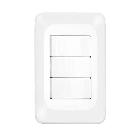 3 Interruptores Simples 4X2 - PIAL PoP