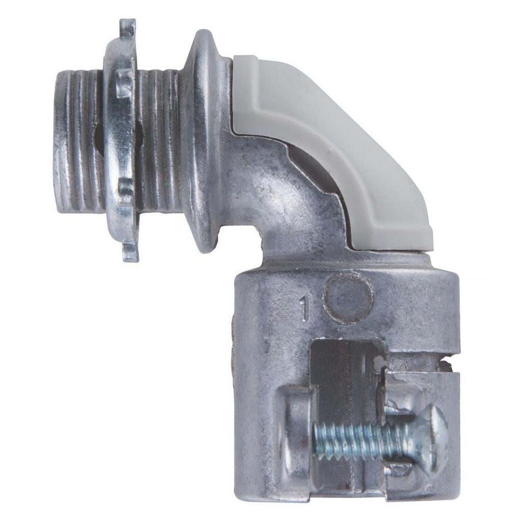 Conector Curvo De Alumínio 3/4