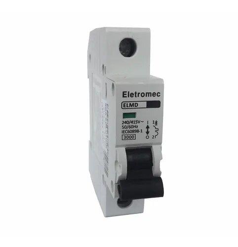 Disjuntor  1X63A Curva C Eletromec