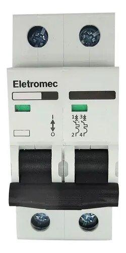 Disjuntor 2X16A Curva C Eletromec