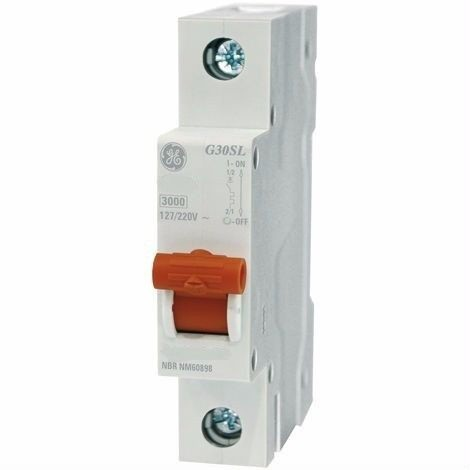 Disjuntor Curva C 1X50A Mini | Ge