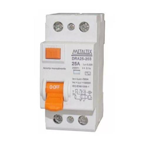 DISJUNTOR DR-30 MA 2X63A | METALTEX