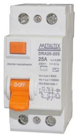 DISJUNTOR IDR-30 MA 2X25A | METALTEX