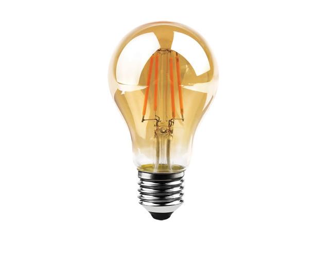 Lâmpada Filamento   4W A60 RG LED