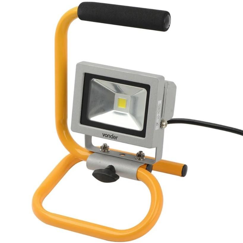 Lanterna Refletora C/Suporte 10W Vonder