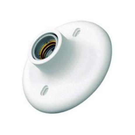 Plafon Plus Soquete De Porcelana Branca 250v/100v