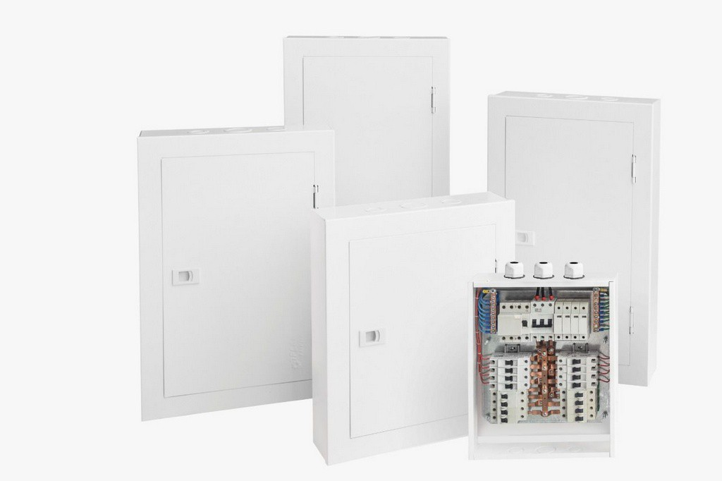 Quadro De Distribuição (Embutir) 16 Disj. C/Barramento 100A | Opção