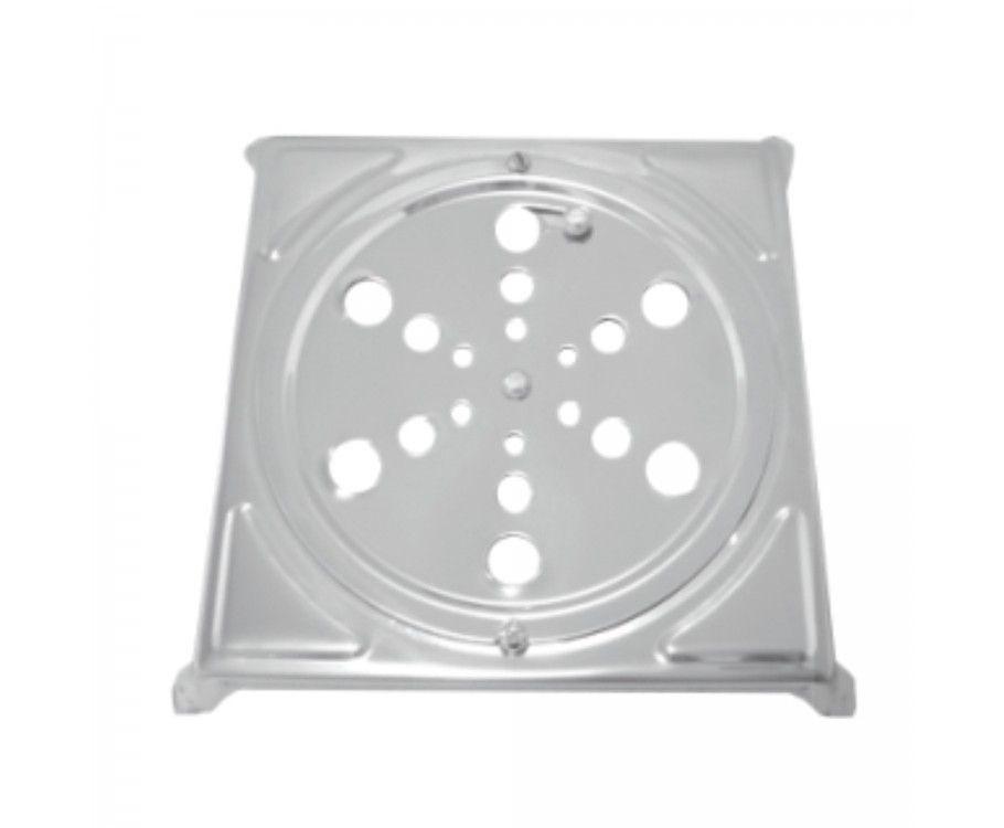 Ralo Crivo Rotativo Quadrado 430  10X10 | Leão Metais