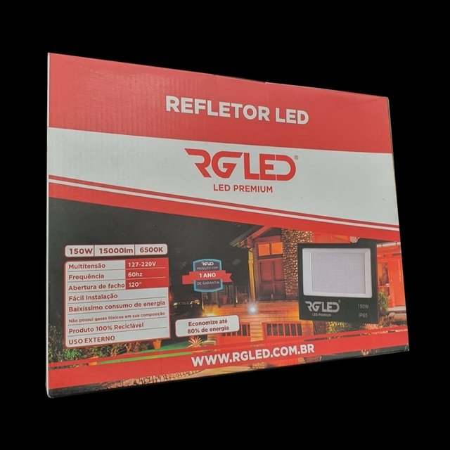Refletor  De Led Smd 150W RG LED