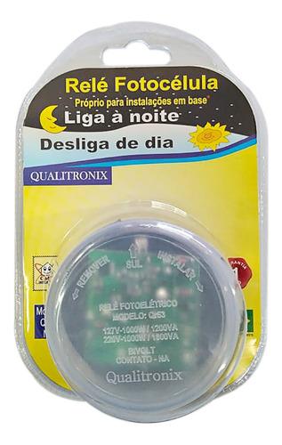 RELE FOTOCELULA S/BASE QR53 - QUALITRONIX