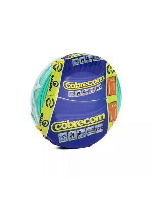 ROLO CABO FLEX 4,0MM VERDE COBRECOM