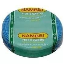 ROLO CABO FLEX 6,00MM AZUL NAMBEI