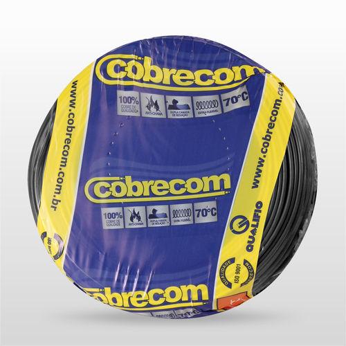 Rolo Cabo Flex 1,5mm Preto  Cobrecom