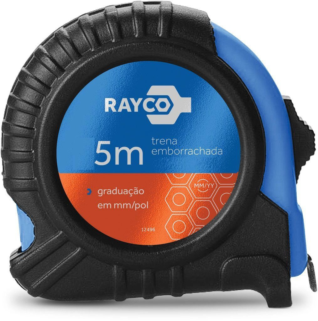 Trena 5.0M X 19MM Emborrachada RAYCO