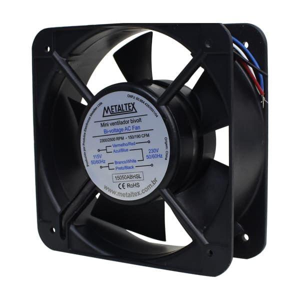 Ventilador 150X150X50Mm 115/230V | Metaltex