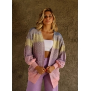 CARDIGAN TRICOT CANDY SUNRISE