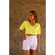 CROPPED MOLETOM NEON  HIT