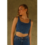 TOP CORSELET JEANS