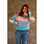 TRICOT LISTRAS CANDY